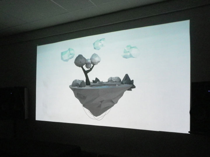 Image de l'installayion Floating Island